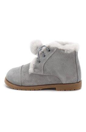 Замшевые ботинки   Фото №2