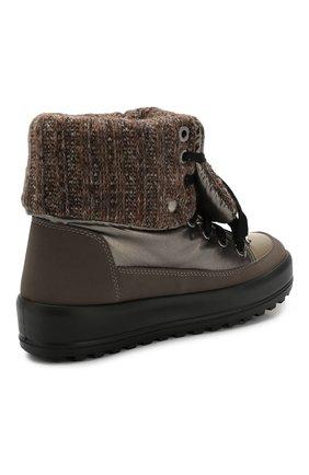 Текстильные ботинки | Фото №4