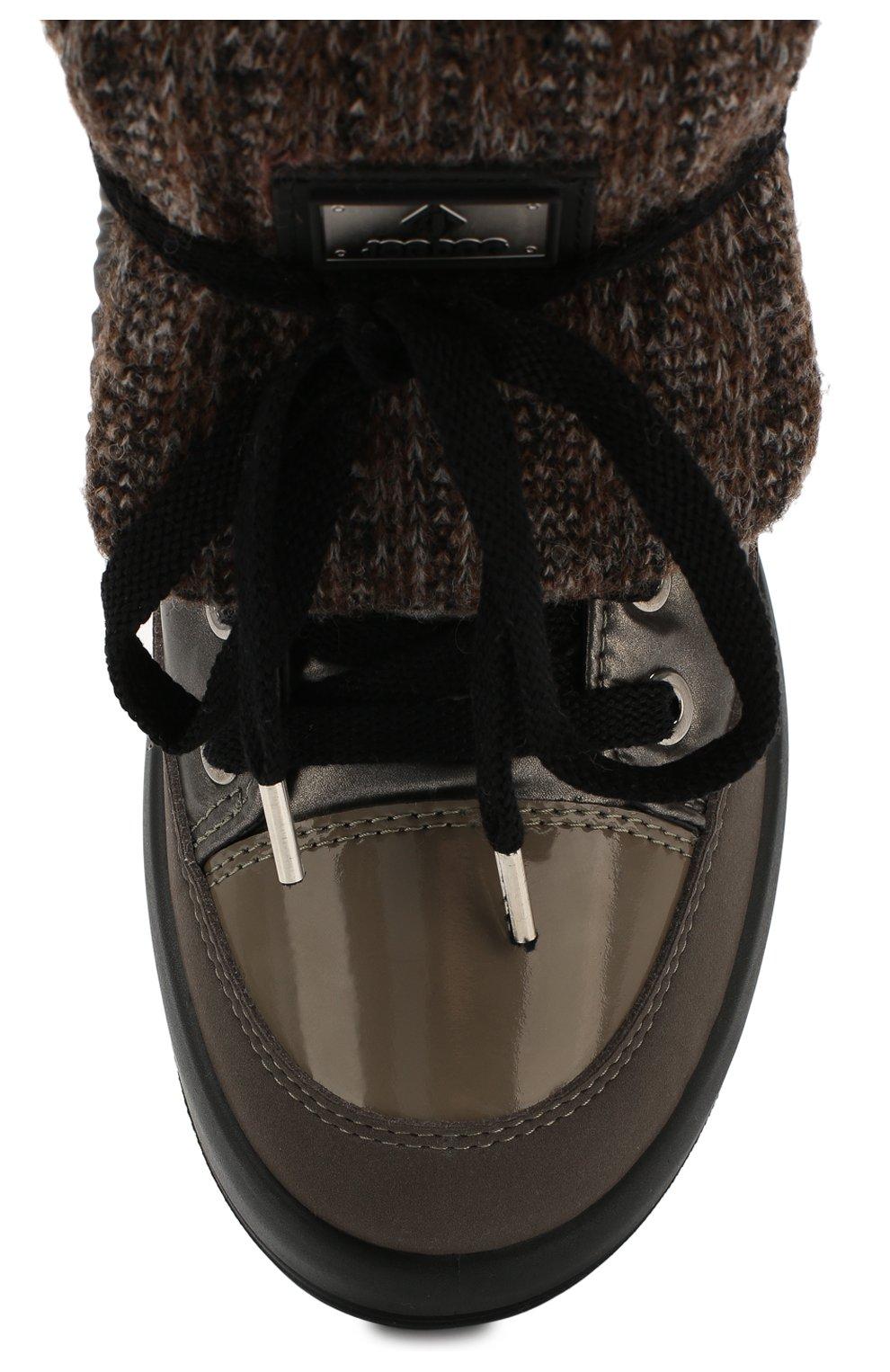 Текстильные ботинки | Фото №5