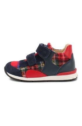 Детские текстильные кроссовки FALCOTTO разноцветного цвета, арт. 0012014234/05 | Фото 2