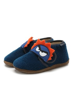 Детского домашние ботинки NATURINO синего цвета, арт. 0014000648/01/24-26 | Фото 1