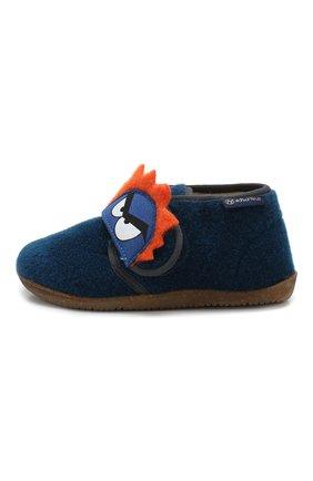 Детского домашние ботинки NATURINO синего цвета, арт. 0014000648/01/24-26 | Фото 2