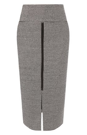 Юбка из смеси шерсти и шелка | Фото №1