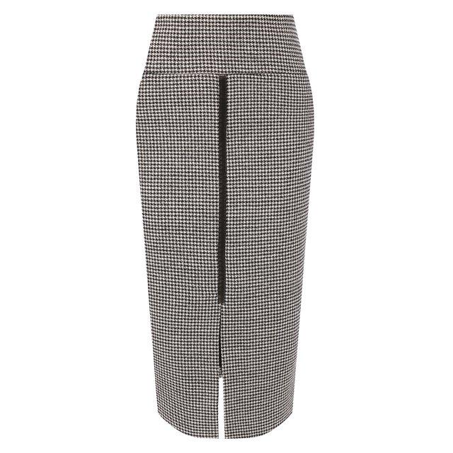 Юбка из смеси шерсти и шелка Tom Ford