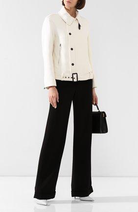 Женская шерстяная куртка TOM FORD белого цвета, арт. CS1059-FAX211 | Фото 2
