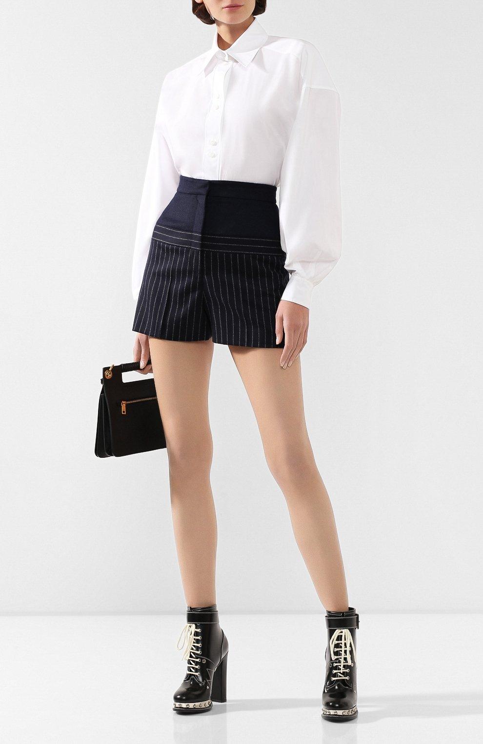 Шерстяные шорты | Фото №2