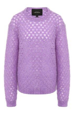 Женская свитер MARC JACOBS RUNWAY сиреневого цвета, арт. K2190079   Фото 1