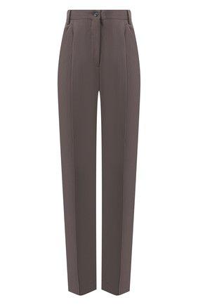 Женские брюки со стрелками ACNE STUDIOS темно-серого цвета, арт. AK0158 | Фото 1