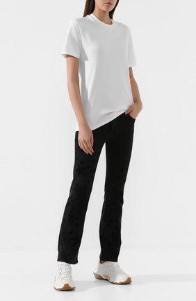 Женская хлопковая футболка ARTICA ARBOX белого цвета, арт. 8011/9100   Фото 2