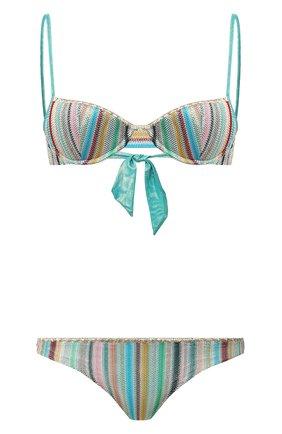 Женский раздельный купальник MISSONI разноцветного цвета, арт. MMP00122/BR003Y | Фото 1