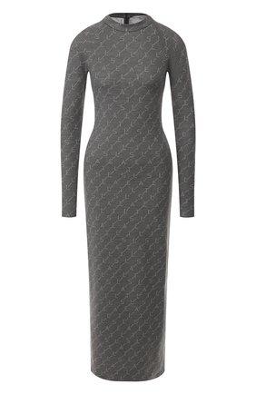 Женское шерстяное платье STELLA MCCARTNEY серого цвета, арт. 574751/S2093 | Фото 1