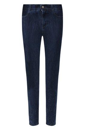 Женские джинсы STELLA MCCARTNEY темно-синего цвета, арт. 555914/SNH25 | Фото 1