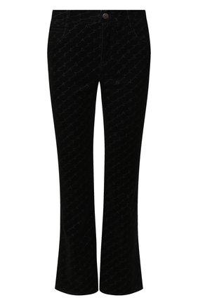 Женские расклешенные джинсы STELLA MCCARTNEY черного цвета, арт. 475508/SNH01   Фото 1