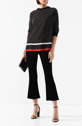 Женские расклешенные джинсы STELLA MCCARTNEY черного цвета, арт. 475508/SNH01   Фото 2