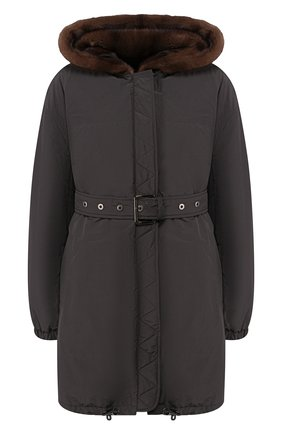 Куртка с меховой подкладкой | Фото №1