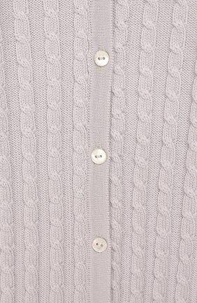 Детский шерстяной комбинезон BABY T серого цвета, арт. 19AI111T/18M-2A   Фото 3