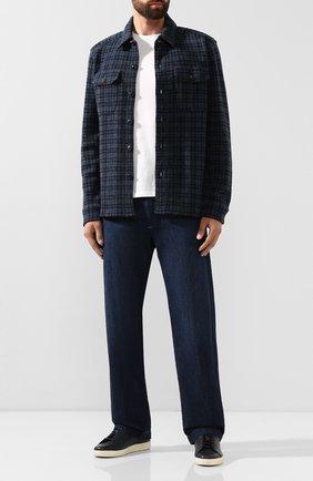 Мужские джинсы RRL темно-синего цвета, арт. 782751091 | Фото 2