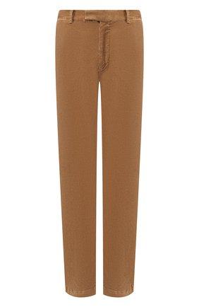 Мужской хлопковые брюки POLO RALPH LAUREN бежевого цвета, арт. 710722642   Фото 1