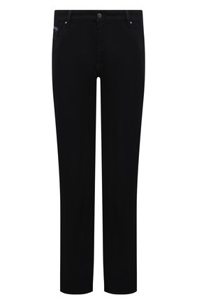 Мужские джинсы PAUL&SHARK темно-синего цвета, арт. C0P4004R | Фото 1