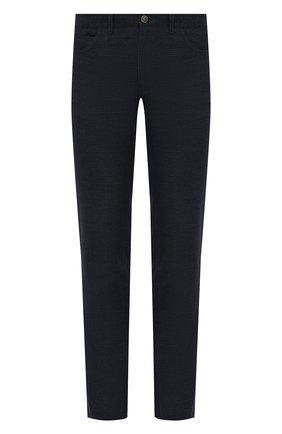 Мужской хлопковые брюки BRIONI темно-синего цвета, арт. SPNK0L/08060/STELVI0 | Фото 1