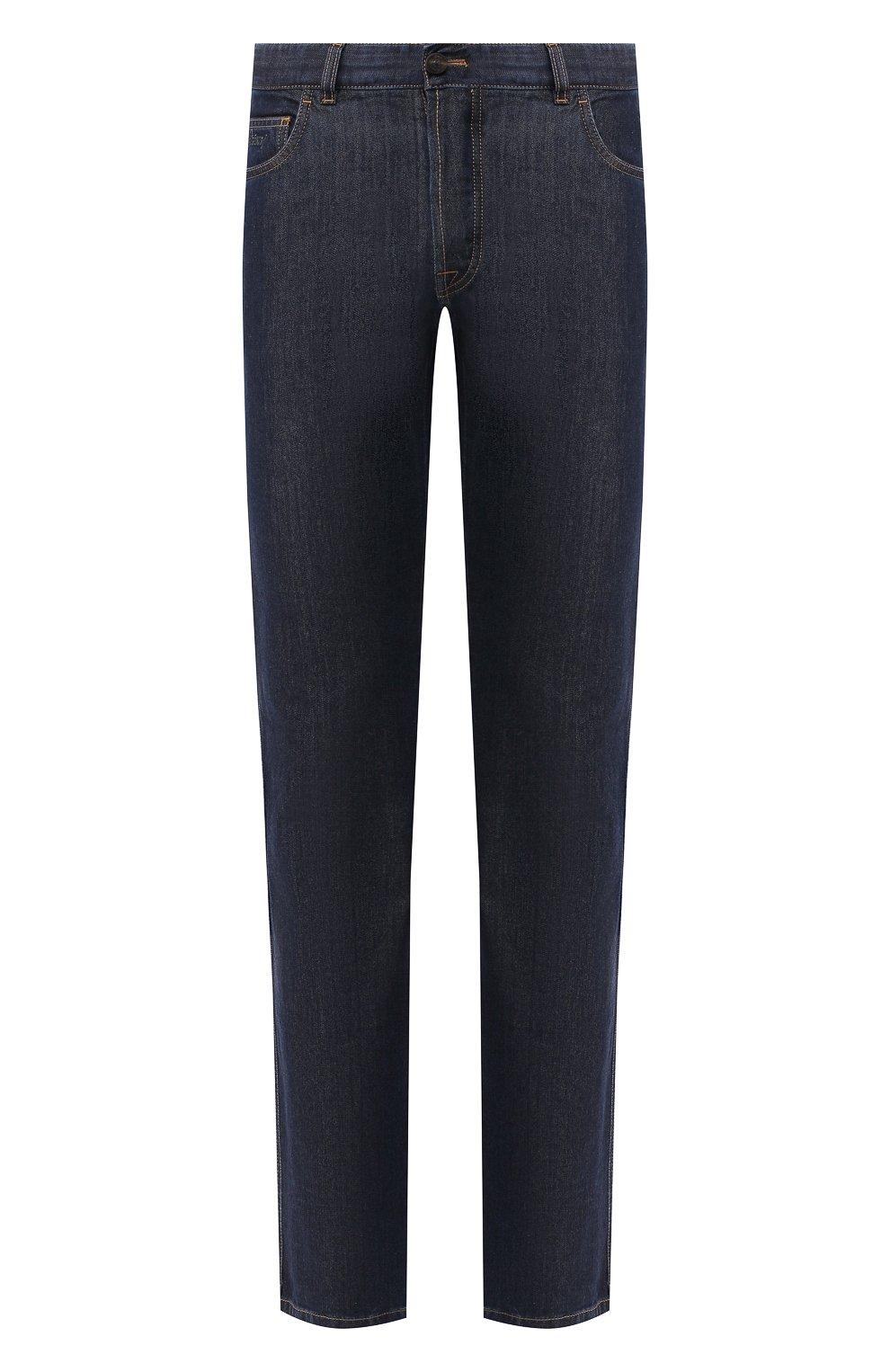 Мужские джинсы BRIONI темно-синего цвета, арт. SPNJ00/08D25/STELVI0/SMER | Фото 1