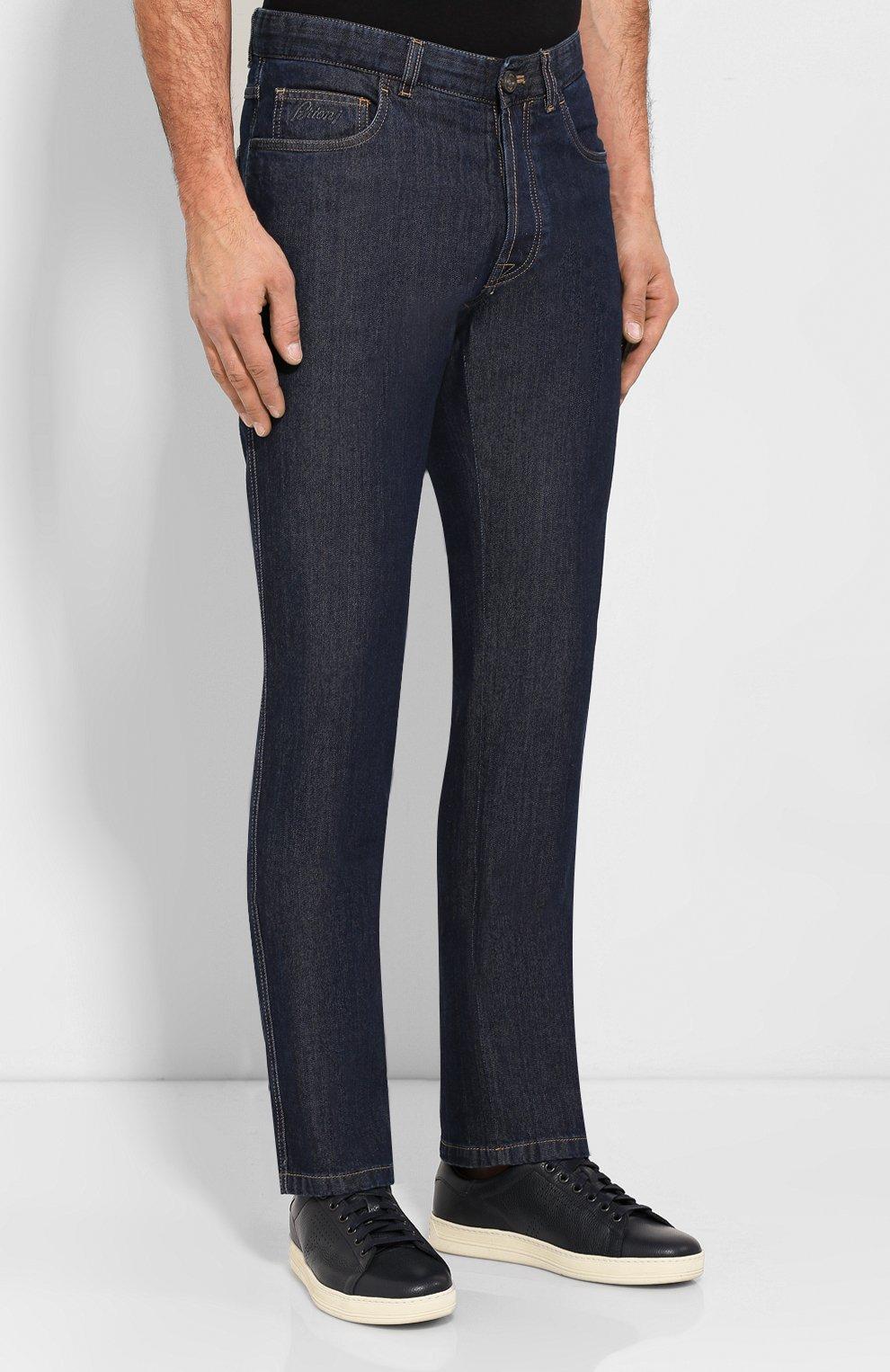 Мужские джинсы BRIONI темно-синего цвета, арт. SPNJ00/08D25/STELVI0/SMER | Фото 3