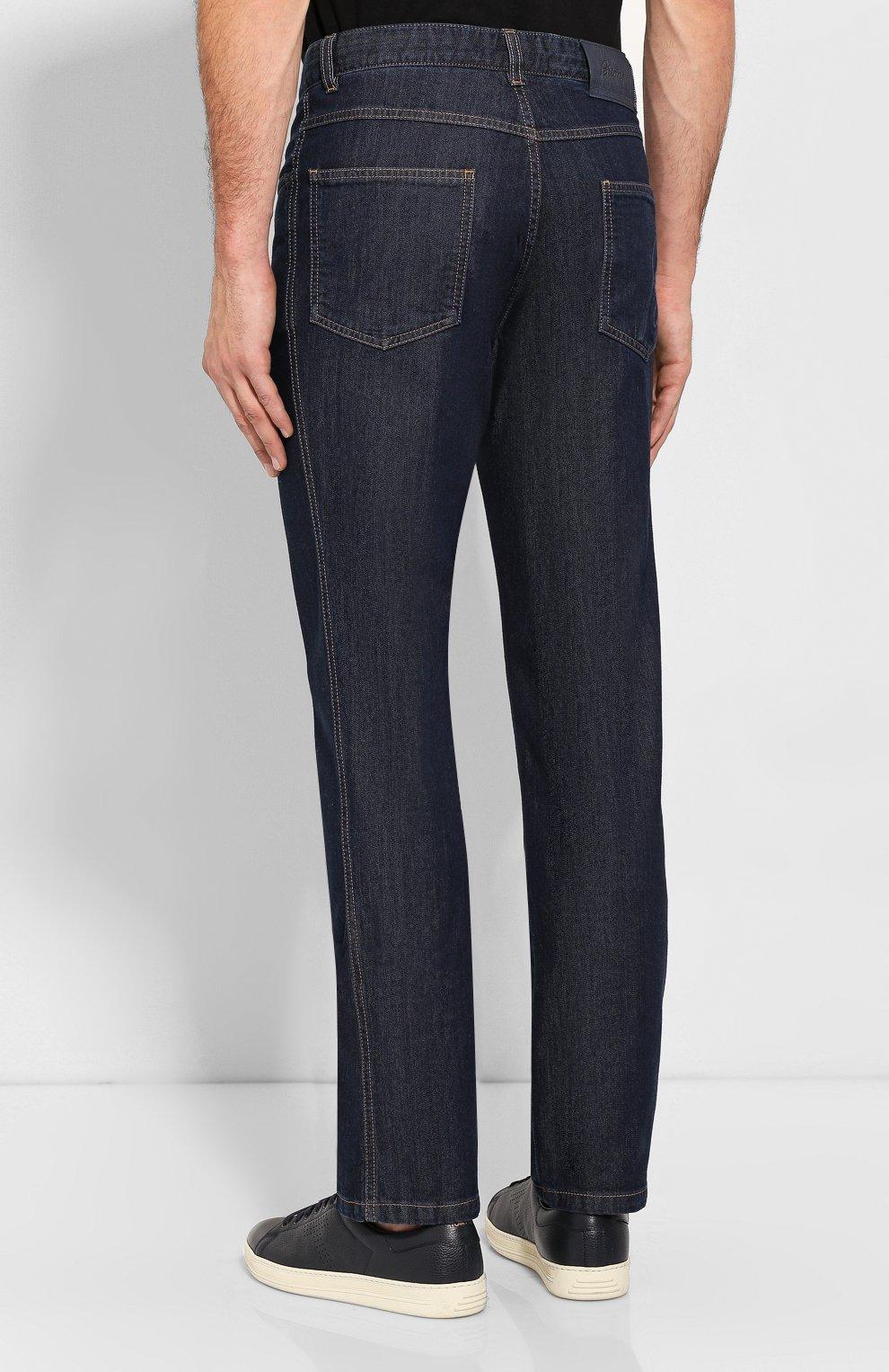 Мужские джинсы BRIONI темно-синего цвета, арт. SPNJ00/08D25/STELVI0/SMER | Фото 4