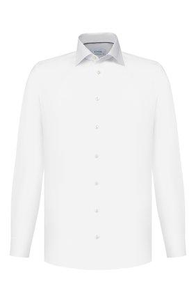 Мужская хлопковая сорочка ETON белого цвета, арт. 1000 00131   Фото 1