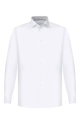 Мужская хлопковая сорочка ETON белого цвета, арт. 1000 00111   Фото 1