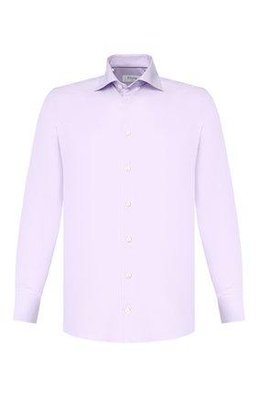 Мужская хлопковая сорочка ETON сиреневого цвета, арт. 1000 00084 | Фото 1