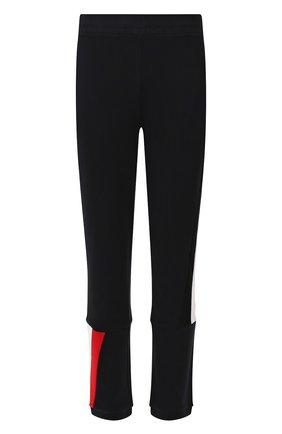 Мужской хлопковые брюки MONCLER темно-синего цвета, арт. E2-091-87091-00-V8095 | Фото 1