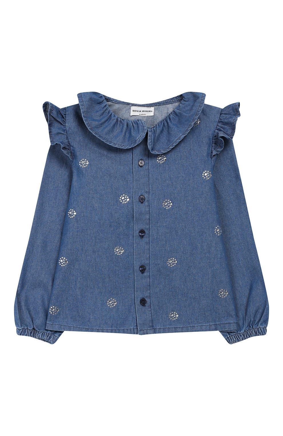 Джинсовая блузка   Фото №1