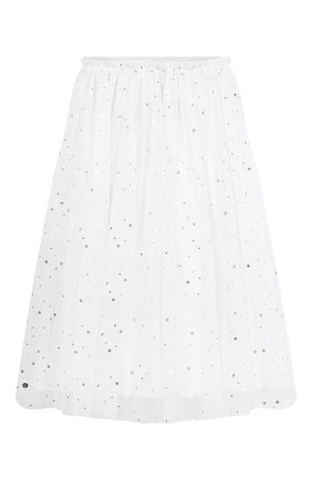 Детская юбка SONIA RYKIEL ENFANT белого цвета, арт. 19W1SK03   Фото 2