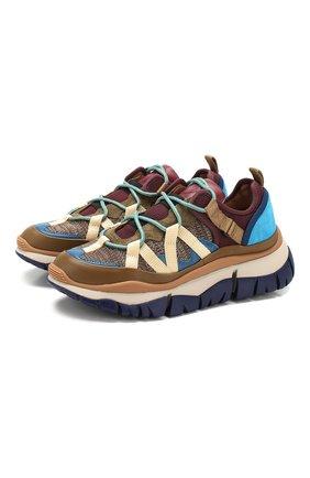 Комбинированные кроссовки Blake | Фото №1
