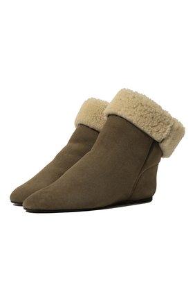 Замшевые ботинки Rullee | Фото №1