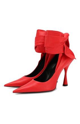 Кожаные туфли Dance Knife | Фото №1
