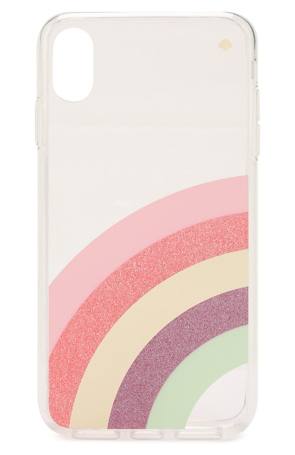 Мужской чехол для iphone xs max KATE SPADE NEW YORK прозрачного цвета, арт. 8ARU6235 | Фото 1