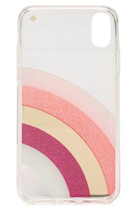 Мужской чехол для iphone x/xs KATE SPADE NEW YORK прозрачного цвета, арт. 8ARU6237 | Фото 2