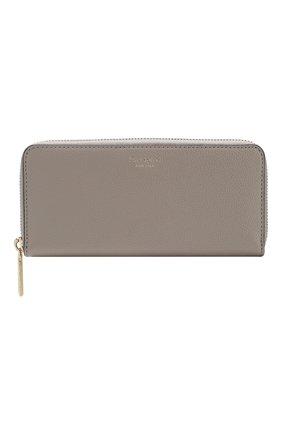 Женские кожаный кошелек margaux KATE SPADE NEW YORK серого цвета, арт. PWRU7771 | Фото 1