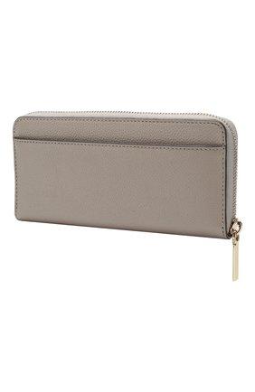 Женские кожаный кошелек margaux KATE SPADE NEW YORK серого цвета, арт. PWRU7771 | Фото 2