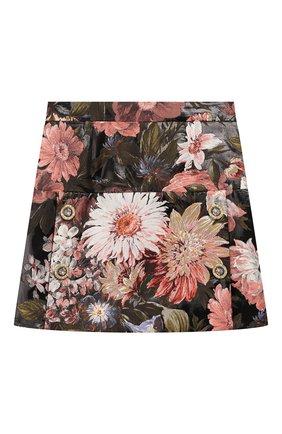 Детская юбка DOLCE & GABBANA разноцветного цвета, арт. L53I37/HJMF6/8-14 | Фото 1