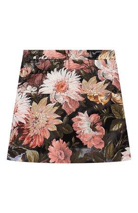 Детская юбка DOLCE & GABBANA разноцветного цвета, арт. L53I37/HJMF6/8-14 | Фото 2