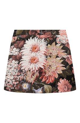 Детская юбка DOLCE & GABBANA разноцветного цвета, арт. L53I37/HJMF6/2-6 | Фото 2