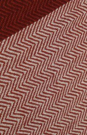 Женский кашемировый шарф hawick LORO PIANA красного цвета, арт. FAI8892 | Фото 2 (Материал: Шерсть, Кашемир; Принт: Без принта; Статус проверки: Требуются правки, Проверена категория)