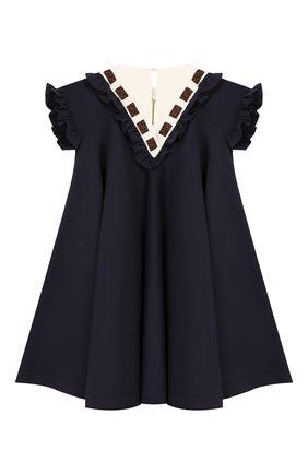 Платье из смеси хлопка и вискозы   Фото №2