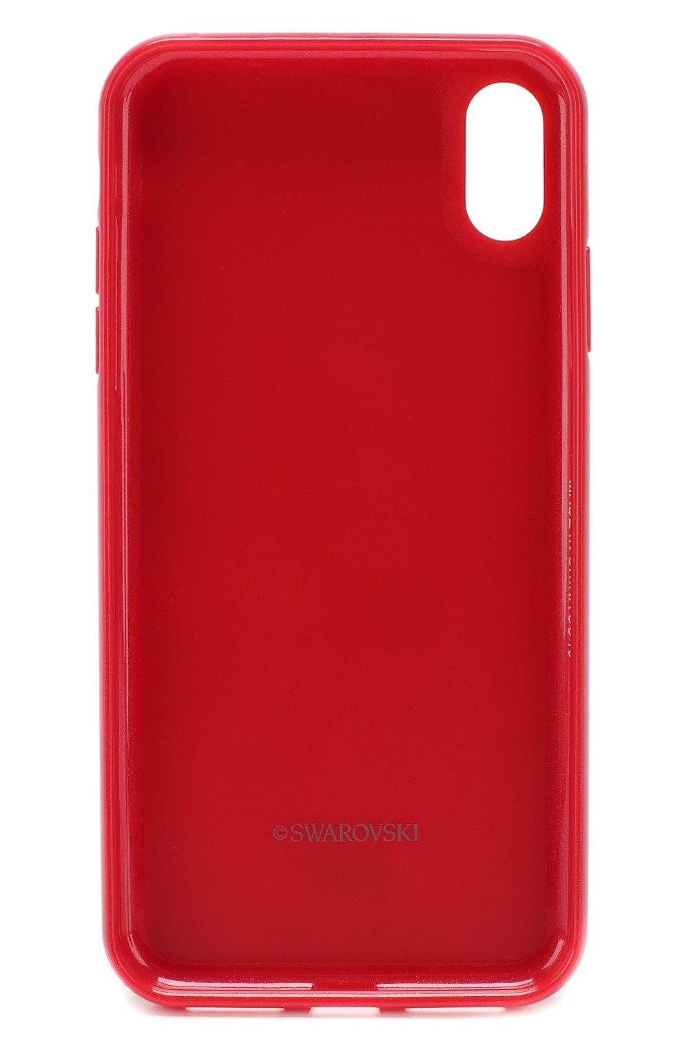 Мужской чехол для iphone xs max SWAROVSKI красного цвета, арт. 5481454 | Фото 2