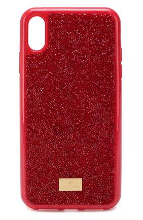 Мужской чехол для iphone x/xs SWAROVSKI красного цвета, арт. 5479960 | Фото 1