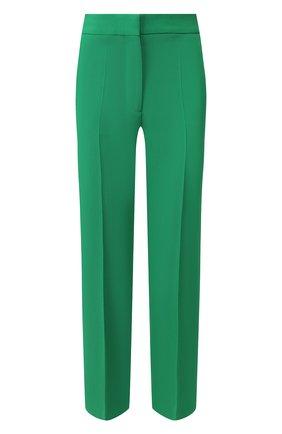 Женские шерстяные брюки STELLA MCCARTNEY зеленого цвета, арт. 529866/SNB42 | Фото 1