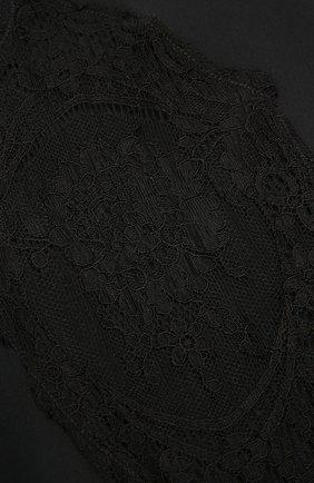 Женские колготки VERSACE черного цвета, арт. AUD30018/A101049 | Фото 2