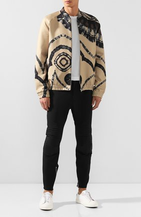 Мужской брюки BOTTEGA VENETA черного цвета, арт. 595830/VA5S0 | Фото 2